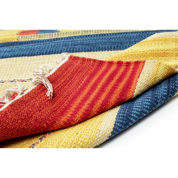 Futószőnyeg indiai Kilim 60 X 240 Rongyszőnyeg / kilim szőnyeg