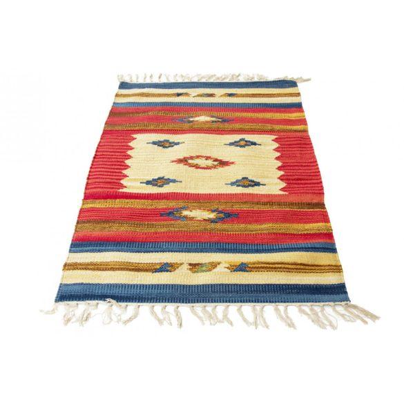 Rongyszőnyeg / kilim szőnyeg indiai 60x90
