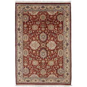 Kézi csomózású perzsa szőnyeg Isfahan 140x217 nappali szőnyeg