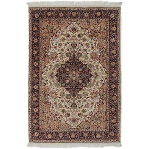 Kézi csomózású perzsa szőnyeg Kashan 128x193 nappali szőnyeg