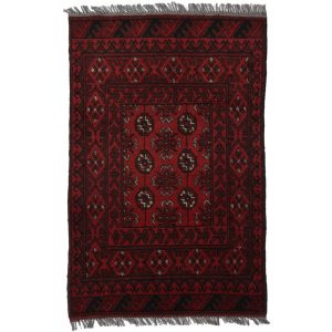 Gyapjú szőnyeg Aqchai 75x115 kézi csomózású szőnyeg