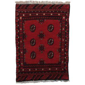 Gyapjú szőnyeg Aqchai 74x108 kézi csomózású szőnyeg