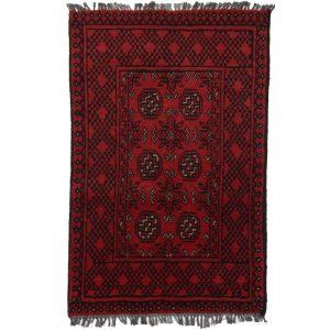 Gyapjú szőnyeg Aqchai 73x114 kézi csomózású szőnyeg