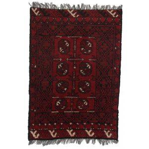 Gyapjú szőnyeg Aqchai 74 X 104 kézi csomózású szőnyeg