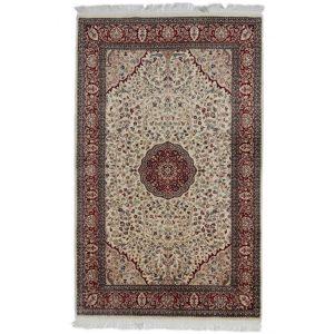 Kézi csomózású perzsa szőnyeg Isfahan 139x224 nappali szőnyeg