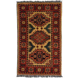 Gyapjú szőnyeg Caucasian Kargai 59x97 kézi csomózású nappali szőnyeg