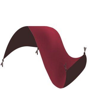 Gépi Perzsa szőnyeg Medalion red 140x200 (Premium) klasszikus perzsa szőnyeg