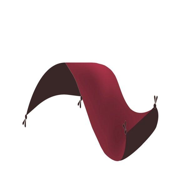 Gépi Perzsa szőnyeg Medalion red 80 X 120 (Premium)  klasszikus perzsaszőnyeg