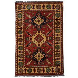 Gyapjú szőnyeg Kargai 60x91 kézi csomózású nappali szőnyeg