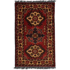 Gyapjú szőnyeg Caucasian Kargai 58x93 kézi csomózású nappali szőnyeg
