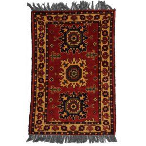 Gyapjú szőnyeg Kargai 61x96 kézi csomózású nappali szőnyeg