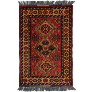 Gyapjú szőnyeg Caucasian Kargai 59 X 89  kézi csomózású szőnyeg