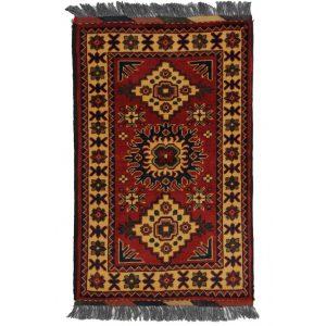 Gyapjú szőnyeg Kargai 60x94 kézi csomózású nappali szőnyeg