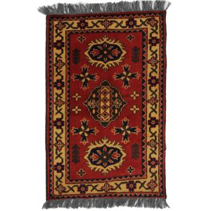 Gyapjú szőnyeg Caucasian Kargai 57 X 89  kézi csomózású szőnyeg
