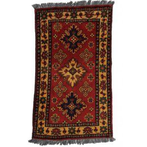 Gyapjú szőnyeg Kargai 55x98 kézi csomózású nappali szőnyeg