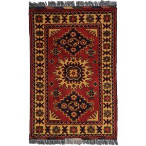 Gyapjú szőnyeg Kargai 59x90 kézi csomózású nappali szőnyeg