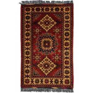 Gyapjú szőnyeg Kargai 59x93 kézi csomózású nappali szőnyeg