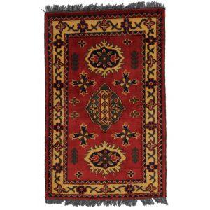 Gyapjú szőnyeg Kargai 59x97 kézi csomózású nappali szőnyeg