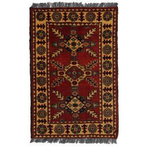 Gyapjú szőnyeg Kargai 63x97 kézi csomózású nappali szőnyeg