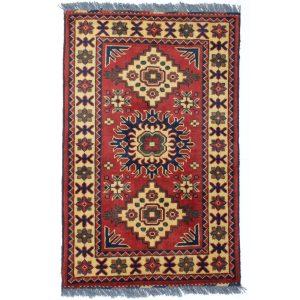 Gyapjú szőnyeg Caucasian 61 X 96  kézi csomózású szőnyeg