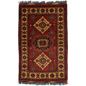 Gyapjú szőnyeg Caucasian Kargai 61x96 kézi csomózású nappali szőnyeg
