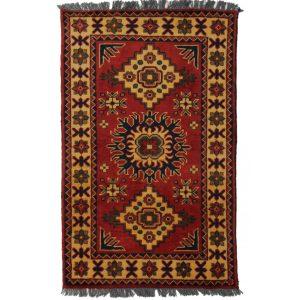 Gyapjú szőnyeg Kargai 61x90 kézi csomózású nappali szőnyeg