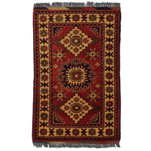 Gyapjú szőnyeg Kargai 60x93 kézi csomózású nappali szőnyeg