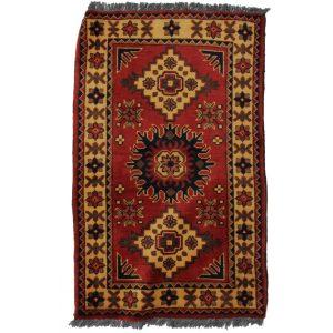 Gyapjú szőnyeg Caucasian 62x104 kézi csomózású nappali szőnyeg