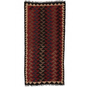 Rongyszőnyeg / kilim szőnyeg Maymana Kilim 97 X 196