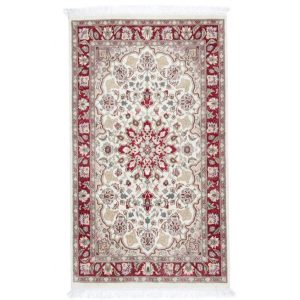Kézi csomózású perzsa szőnyeg Isfahan 92x157 nappali szőnyeg