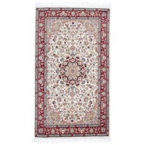 Kézi csomózású perzsa szőnyeg Isfahan 94x163 nappali szőnyeg