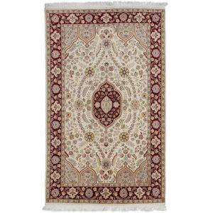 Perzsa szőnyeg Isfahan 140 X 228 kézi csomózású perzsa szőnyeg