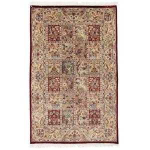 Kézi csomózású perzsa szőnyeg Bakhtiari 141x219 nappali szőnyeg