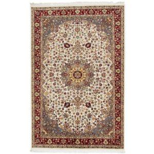 Kézi csomózású perzsa szőnyeg Medalion 123x219 nappali szőnyeg