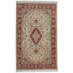 Kézi csomózású perzsa szőnyeg Isfahan 139x227 nappali szőnyeg