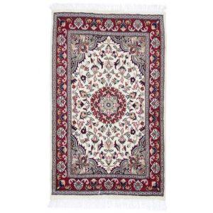 Kézi csomózású perzsa szőnyeg Kerman 80x128 nappali szőnyeg