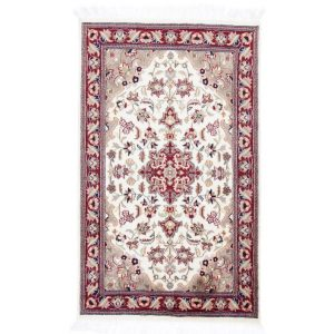 Kézi csomózású perzsa szőnyeg Kerman 80x132 nappali szőnyeg