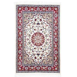 Kézi csomózású perzsa szőnyeg Kerman 78x120 nappali szőnyeg