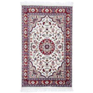 Kézi csomózású perzsa szőnyeg Kerman 78x127 nappali szőnyeg