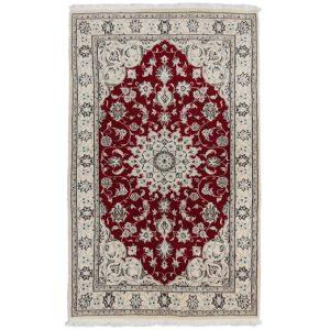 Kézi csomózású perzsa szőnyeg Nain Kasmar 127x208 nappali szőnyeg