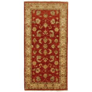 Ziegler gyapjú szőnyeg 71x143 kézi csomózású perzsa szőnyeg