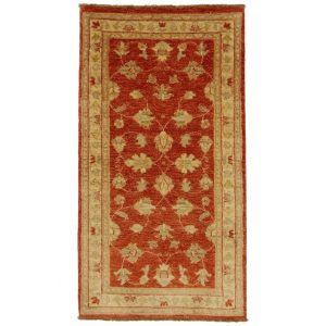 Ziegler gyapjú szőnyeg 70x130 kézi csomózású perzsa szőnyeg