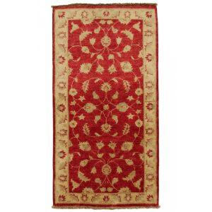 Ziegler gyapjú szőnyeg 72x136 kézi csomózású perzsa szőnyeg