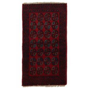 Gyapjú szőnyeg Caucasian 51x96 kézi csomózású nappali szőnyeg