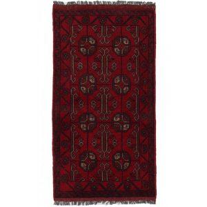 Gyapjú szőnyeg Kargai 50x94 kézi csomózású nappali szőnyeg