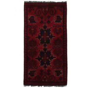 Gyapjú szőnyeg Kargai 54x105 kézi csomózású nappali szőnyeg