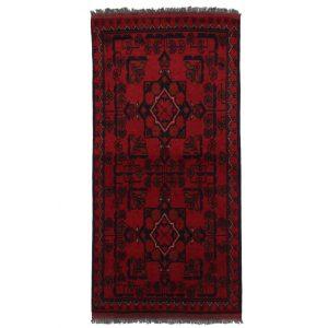 Gyapjú szőnyeg Kargai 50x100 kézi csomózású nappali szőnyeg