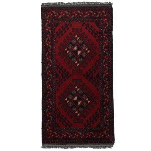 Gyapjú szőnyeg Kargai Caucasian 50x96 kézi csomózású nappali szőnyeg