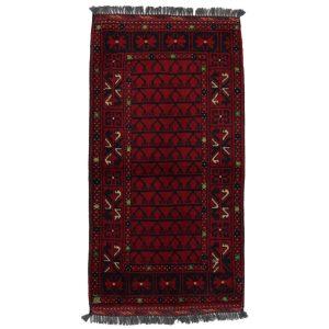 Gyapjú szőnyeg Kargai 61x106 kézi csomózású nappali szőnyeg