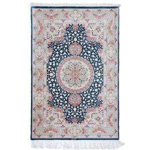 Selyem szőnyeg Ghom 102x153 kézi csomózású perzsa szőnyeg